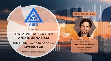 AIBD Webinar on Data Visualization and Journalism